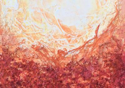 Serie Corales Naranja (enmarcado) - No Disponible