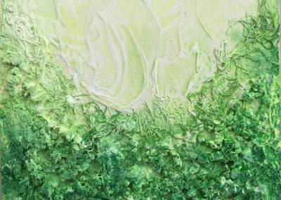 Serie Corales Verde (enmarcado) - No disponible