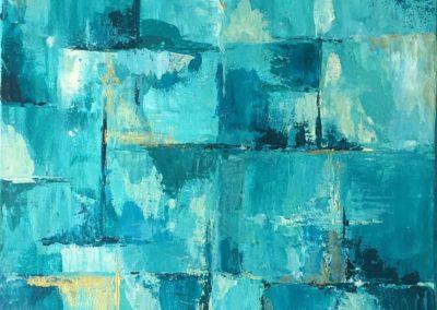Serie Lazos Blue I
