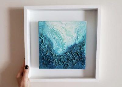 Serie Corales Turquesa